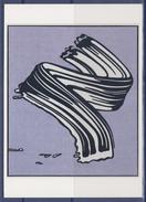 "Roy Lichtenstein Carte Postale ""White Brushstroke"" 1965 ""Coup De Pinceau Blanc"" - Paintings"
