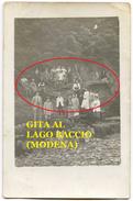 GITA Al LAGO BACCIO (Pievepelago - Modena) Cartolina Fotografica (Frignano) - Modena