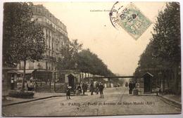 PORTE ET AVENUE DE SAINT MANDE - PARIS - District 12