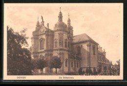 AK Ossegg, Blick Auf Die Stiftskirche - Tschechische Republik