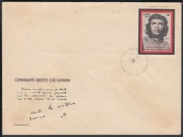 1968-FDC-3  CUBA. FDC. 1968. ERNESTO CHE GUEVARA. PRIMER SELLO DEL CHE GUEVARA. - FDC