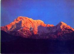 Nepal - Annapurna South Peak Or Moditse - Formato Grande Viaggiata - E - Nepal