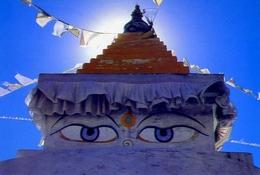 Nepal - Chhorten Of Namche - Formato Grande Viaggiata - E - Nepal