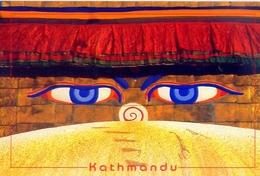 Nepal - Kathmandu - Formato Grande Viaggiata - E - Nepal