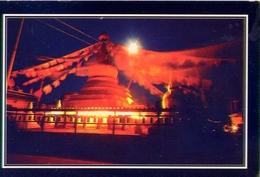 Nepal - Namo Buddha At Night - Formato Grande Viaggiata - E - Nepal