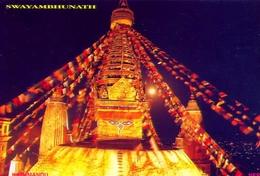 Nepal - Swayambhunath - Formato Grande Viaggiata - E - Nepal
