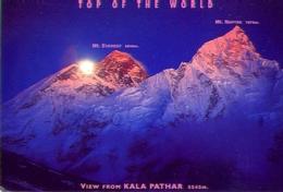Nepal - Top Of The World - View From Kala Pathar - Formato Grande Viaggiata - E - Nepal