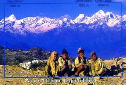 Nepal - View From Dhulikhel - Formato Grande Viaggiata - E - Nepal