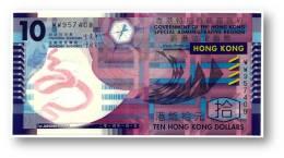 HONG KONG - 10 DOLLARS - 2014 - Pick 401.d - Serie WW - Polymer Plastic - Government Of The Hong Kong - Hong Kong