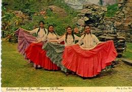 Exhibition Of Mative Dress Montuna In Old Panama - Formato Grande Viaggiata - E - Panama