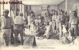 ANNONAY MEGISSERIES ATELIERS DE PALISSONNEURS METIER LAINE TEXTILE MOUTON 07 ARDECHE - Annonay