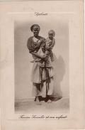 Djibouti  Femme Somalis Et Son Enfant - Djibouti