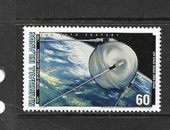 MARSHALL 1997 EVENEMENTS DU XXeme SIECLE(1950-1959)  SPOUTNIK  YVERT N° NEUF MNH**
