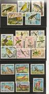 KAMPUCHEA Animaux  Année 1984/85 N° Y/T : 470/76-484/90-569/75 Oblitérés - Kampuchea