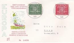 Germany FDC 1963 Europa CEPT (G69-1B) - Europa-CEPT