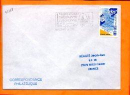 COTE D'OR, Marsannay La Côte, Flamme SCOTEM N° 12768, 1re Saint Vincent Tournante Européenne - Oblitérations Mécaniques (flammes)