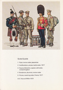 Thematiques Militaire British Uniforms Scots Guards  Differents Uniformes De La Cavalerie N° 3 - Uniforms