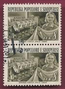 """1953 - Textile Facotory """"Stalin"""", Tirana - Yt_AL 459 - Used - Albania"""