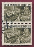 "1953 - Textile Facotory ""Stalin"", Tirana - Yt_AL 459 - Used - Albanien"