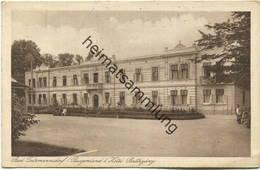 Bad Tatzmannsdorf - Hotel Batthyany - Verlag Der Kurkommission In Bad Tatzmannsdorf Gel. 1928 - Österreich