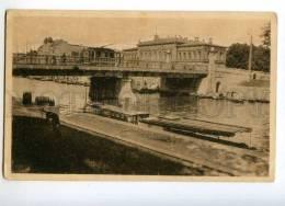 247518 FINLAND TURKU ABO Bridge & City Hall Vintage Postcard - Finlande