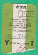 Carte D'accès à Bord - CSA - Europe