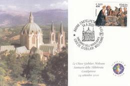 2000 CASTELPETROSO SANTUARIO DELL'ADDOLORATA - Eglises Et Cathédrales