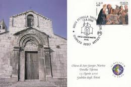 2000 PETRELLA TIFERNINA CHIESA S. GIORGIO MARTIRE XII SEC. - Eglises Et Cathédrales