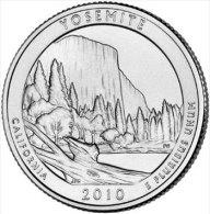 "USA QUARTER (1/4 Dollar) 2010 P Mint ""YOSEMITE"" UNC - 2010-...: National Parks"