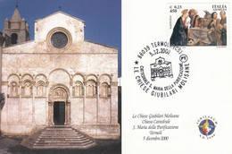 2000 TERMOLI CATTEDRALE S. MARIA DELLA PURIFICAZIONE - Eglises Et Cathédrales