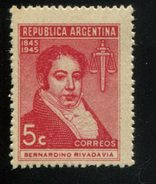 426681914 ARGENTINIE DB 1944 POSTFRIS MINTNEVER HINGED POSTFRIS NEUF YVERT 460 - Argentine