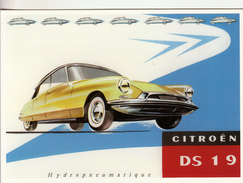 Thematiques Voitures L'Automobile Francaise Citroen DS 19 - Cartes Postales