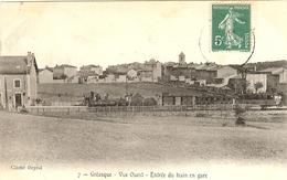 GREASQUE - Entree Du Train En Gare - Otros Municipios
