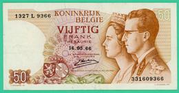 50 Francs - Belgique - 16-05-66 - N° 331609366 - TTB - - [ 6] Tesoreria