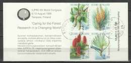 Finland Suomi 1995 Mi Booklet 39 Canceled FOREST TREES