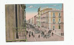 G-I-E , ITALIE , TARANTO , Compagnie Di Sbarco Passano Par Il Corso Umberto , Militaria , écrite - Taranto