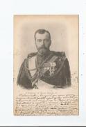 L'EMPEREUR DE RUSSIE NICOLAS II   1901 - Russie