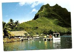 POLYNESIE FRANCAISE.  BORA BORA LOT DE 2 CARTES  HOTEL MAITAI - Polynésie Française