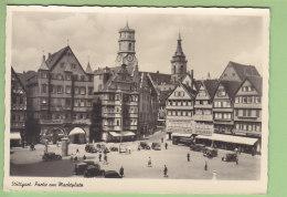 STUTTGART : Partie Am Marktplatz  Scans. Edition Weichert - Stuttgart