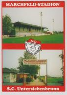 AK -NÖ - Altes Marchfeld Stadion - S.C. Untersiebenbrunn - Fussball