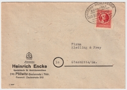 1945, Bahnpost Thüringen! , #7233 - Zone Soviétique