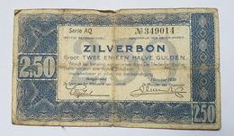 BILLET PAYS BAS - P.82 - 1938 - 2.5 GULDEN - - [2] 1815-… : Regno Dei Paesi Bassi