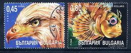BULGARIA 2004 Nature Protection Singles Ex Block Used. Michel 4659-60 - Bulgaria