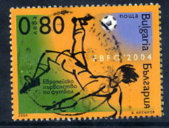 BULGARIA 2004 European Football Single Ex Block Used. Michel 4655 - Used Stamps