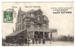 ORROIR - MONT-de-L´ENCLUS - HOTEL RESTAURANT Du Grand St-Martin - Propriétaire Camille BAUWENS - Mont-de-l'Enclus