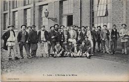 CPA LENS (62) Pas De Calais Mine Mining Mineur Métier Non Circulé édition Librairie DELATTRE - Lens