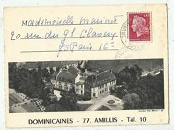 Amillis ( 77 . Seine Et Marne)  Lettre Dominicaines Vers 1969 - Vieux Papiers