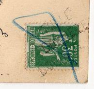 PARIS 1937--Exposition Internationale-Panorama.....--griffe Linéaire TULLE-CORREZE + Oblitération Complaisance - Marcofilia (sobres)