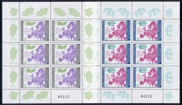BULGARIA 1983 European Security Conference Sheetlets MNH / **.  Michel 3218-21 Kb - Blocks & Sheetlets