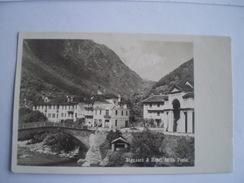 Suisse (TI) Ticino - Bignasco And  Hotel De La Poste (Carte Photo) 19?? - TI Ticino